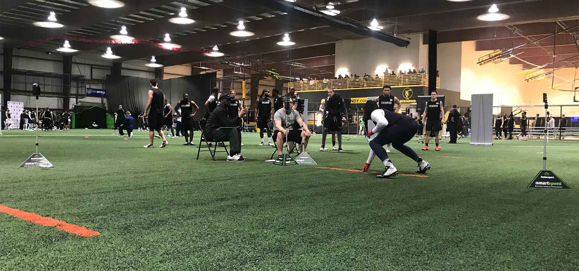 2019 National Scouting Combine RB Position Drills