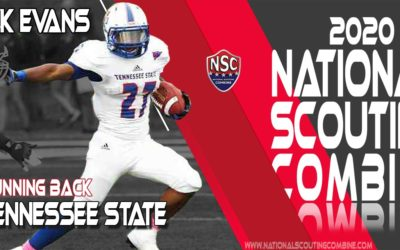 2020 National Scouting Combine Prospect Erick Evans, RB from Tennessee State