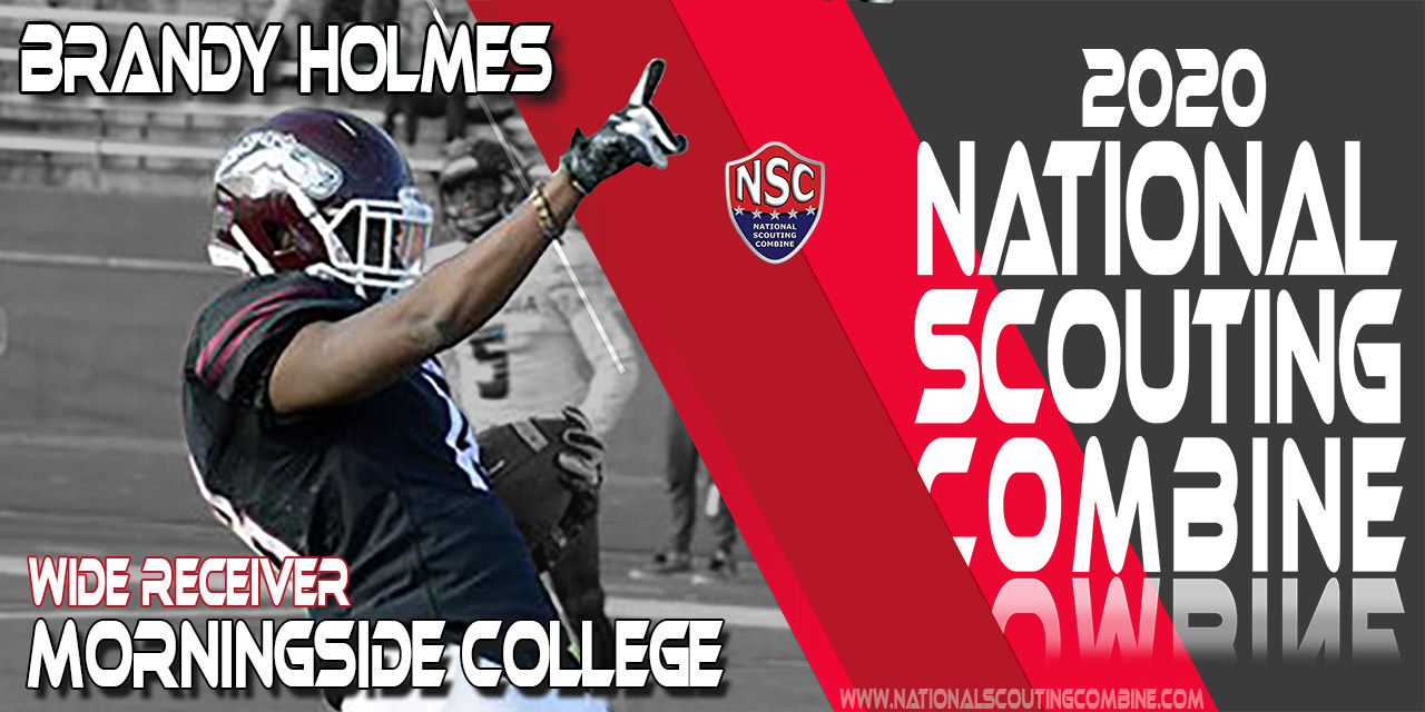 2020 National Scouting Combine Prospect Brandy Holmes, WR from Morningside College