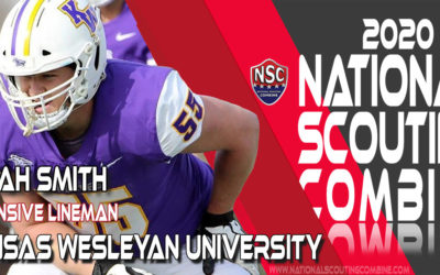 2020 National Scouting Combine Prospect Eli Smith, OL from Kansas Wesleyan University