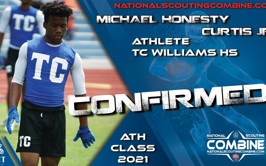 National Scouting Combine HS Prospect Michael Honesty Curtis Jr., ATH from TC Williams
