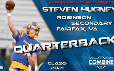 National Scouting Combine Prospect Steven Hugney, QB from Robinson Secondary