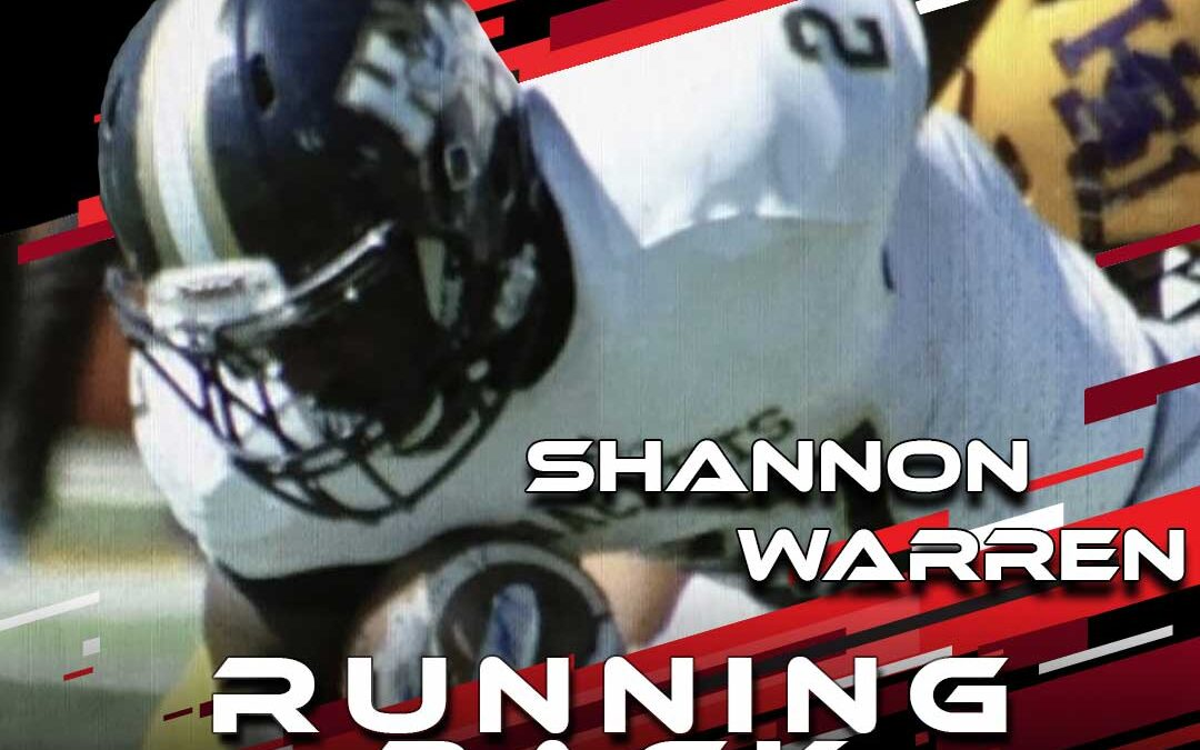 2021 National Scouting Combine Featured Athlete Shannon Warren, RB from Howard Payne University