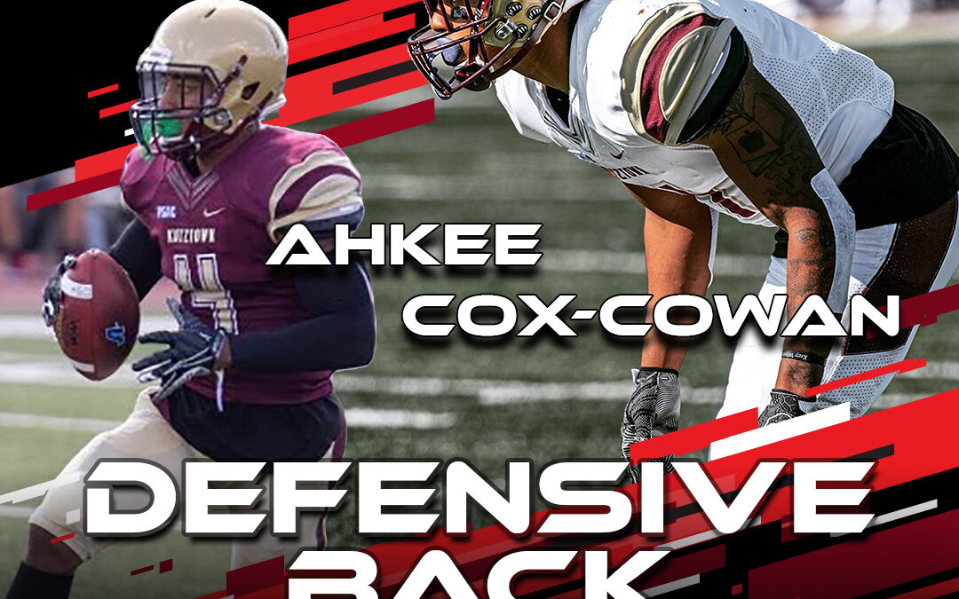 2021 National Scouting Combine Featured Athlete Ahkee Cox-Cowan, DB from Kutztown